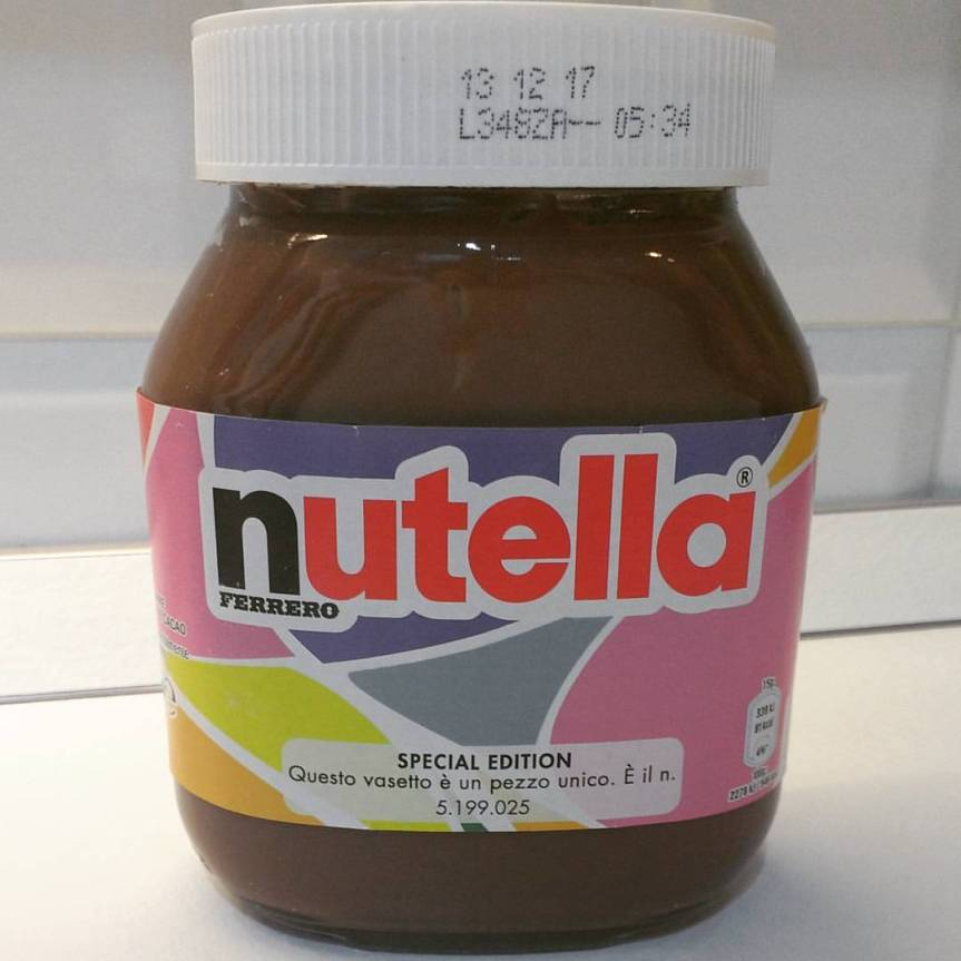 Nutella for grown-ups